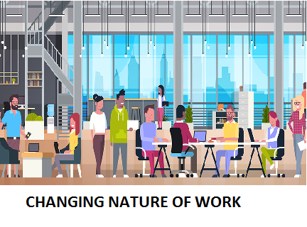 CHANGING NATURE OF WORK
