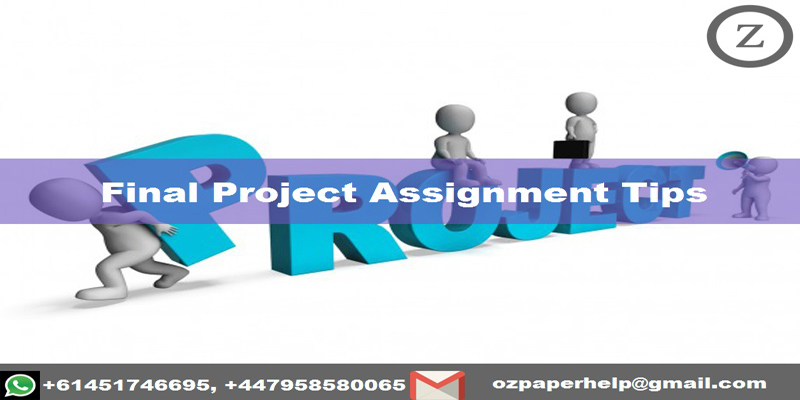 Final Project Assignment Tips