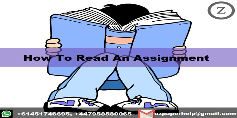 How To Read An Assignment