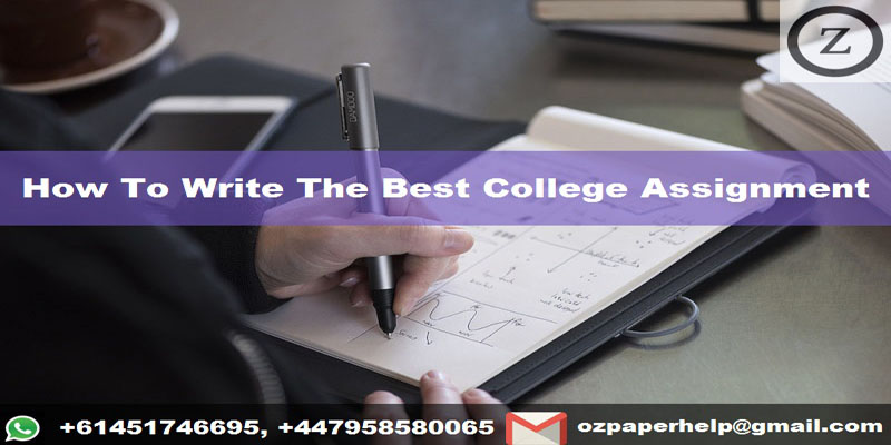 How To Write The Best College Assignment