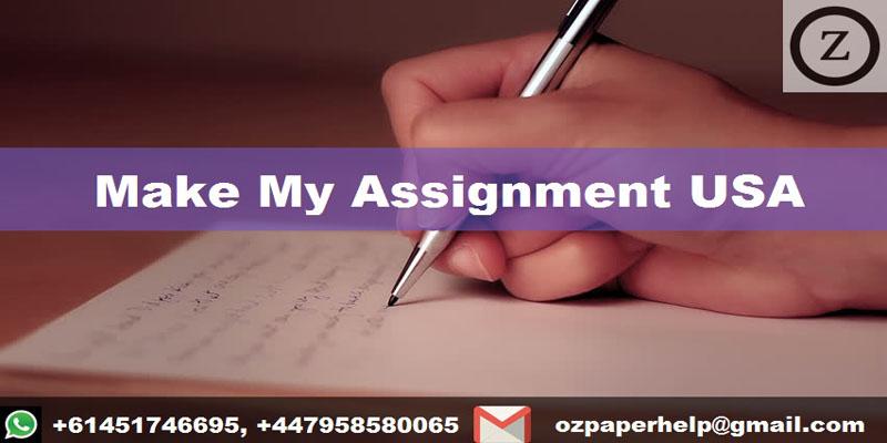 Make My Assignment USA