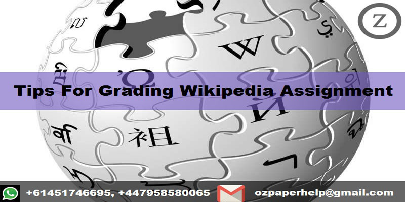 Tips For Grading Wikipedia Assignment