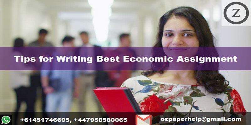 Tips for Writing Best Economic Assignment