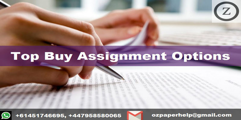 Top Buy Assignment Options