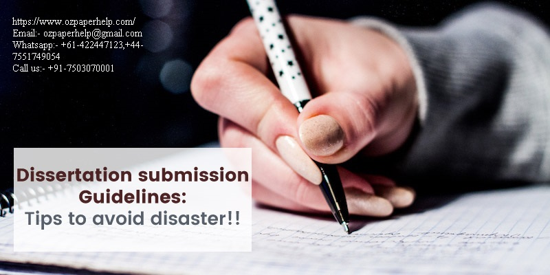 Writing Guide Dissertation