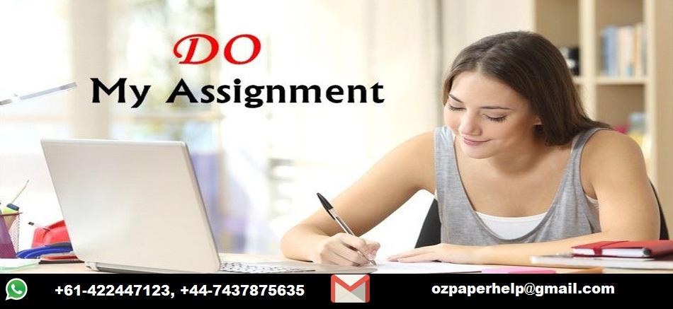 Do My Assignment Online