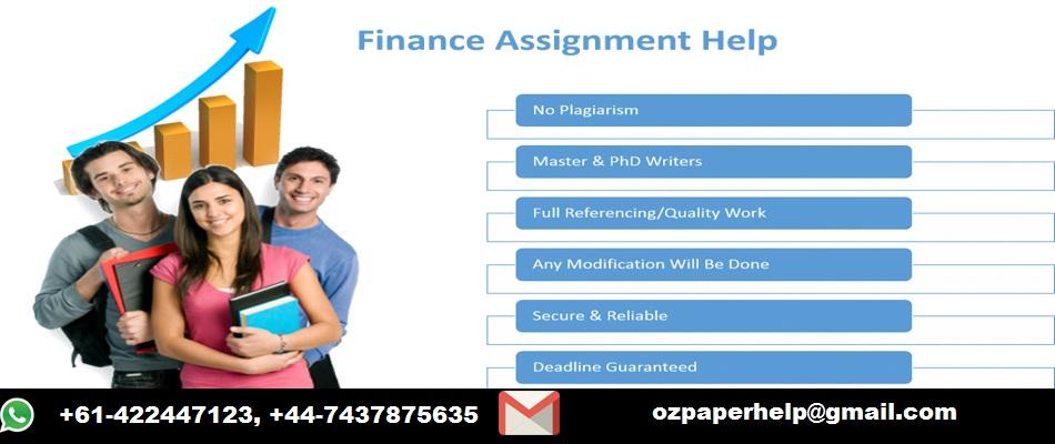 Financial Services Assignment Help Australia