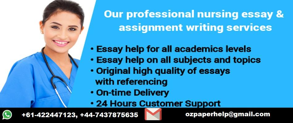 Nursing Essay Help Australia