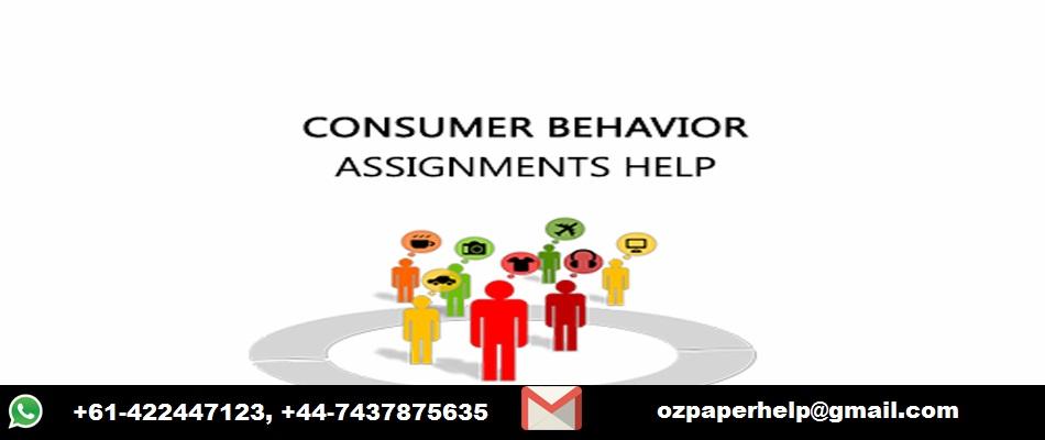 Consumer Behavior Assignment Help Service