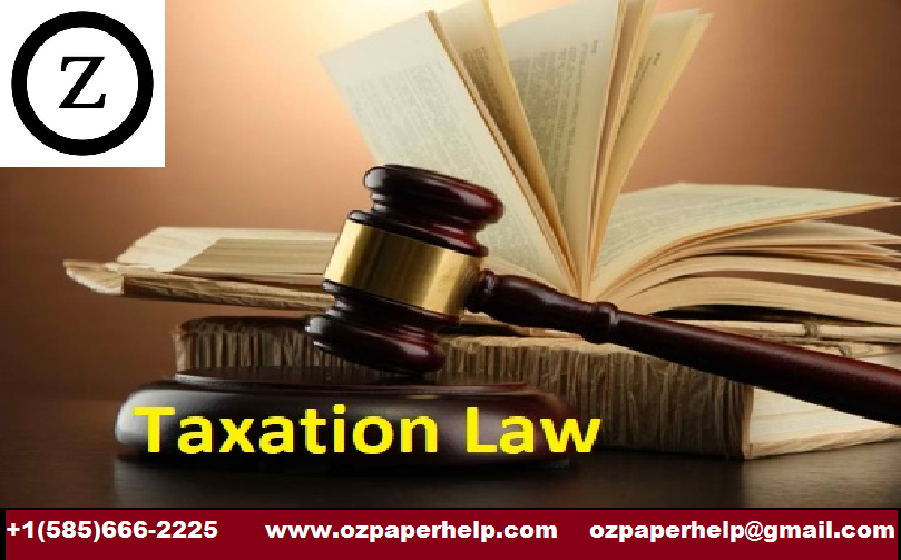 Taxation Law Solutions Assignment Help