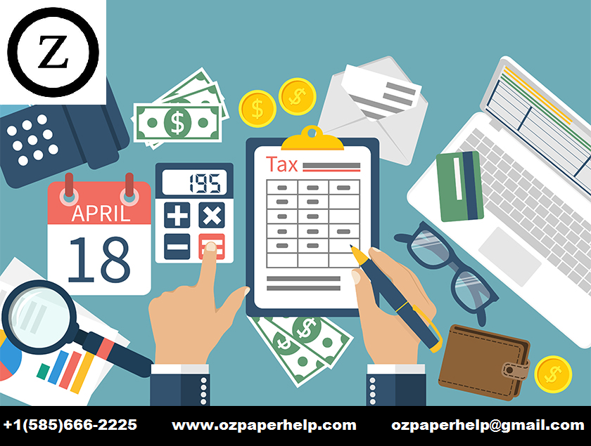 Tax Questions Assignment Help