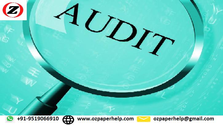 Audit Assurance Compliance Assignment Help