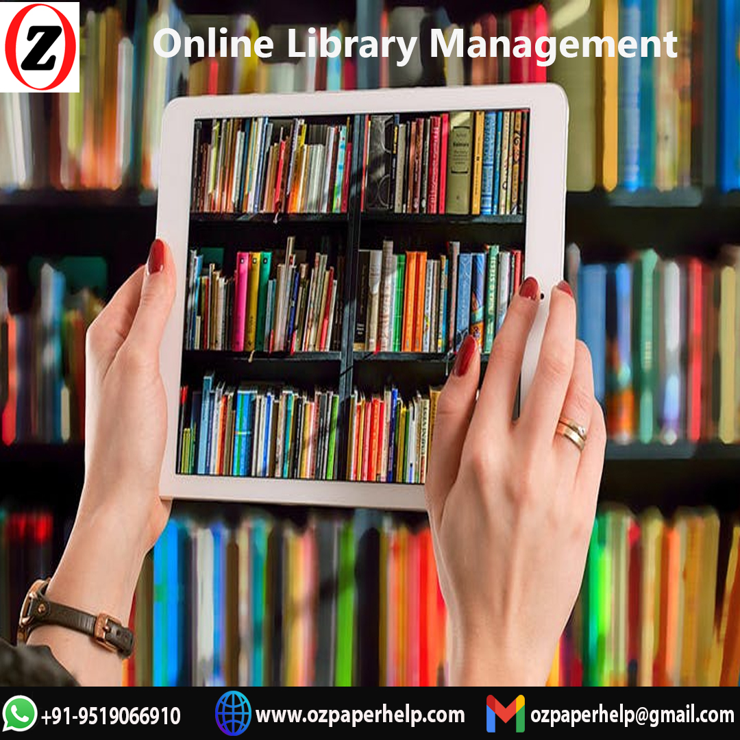 Online Library Management System Assignment Help UK