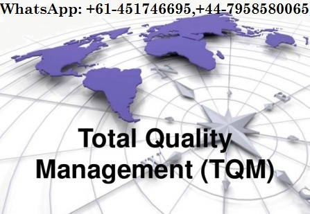 The Global Logistics and Total Quality Management of Whole Foods Market