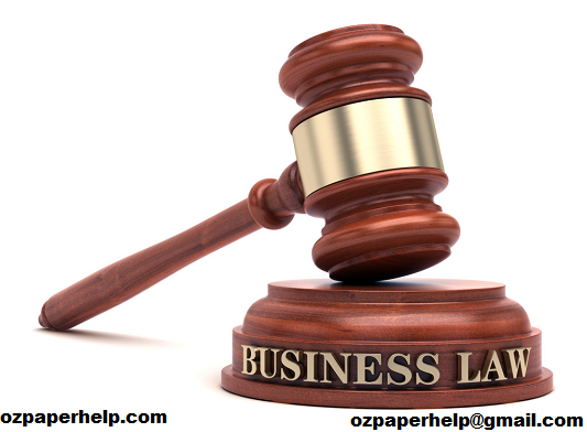 Business Law Assignment Australia