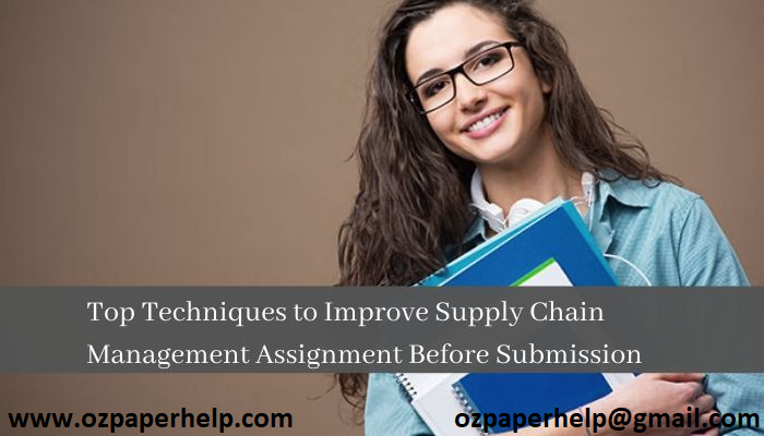 Global Supply Chain Assignment Help