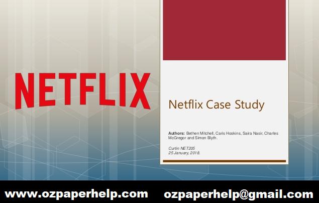 Netflix Case Study Assignment Help