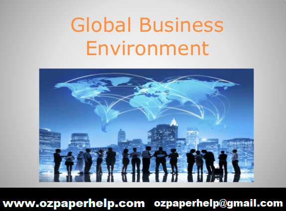 Global Business Environment Assignment Help