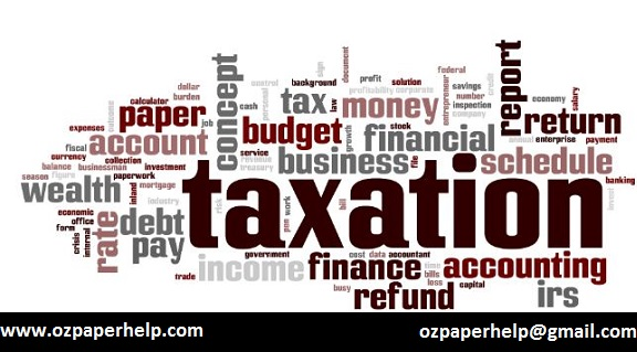 Taxation System Assignment help