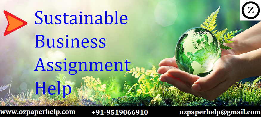 Sustainable Business Assignment help