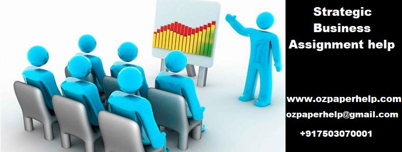 Strategic Business Assignment help