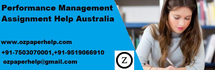 Performance Management Assignment Help Australia