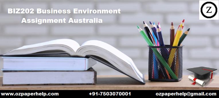 BIZ202 Business Environment Assignment Australia