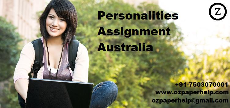 Personalities Assignment Australia