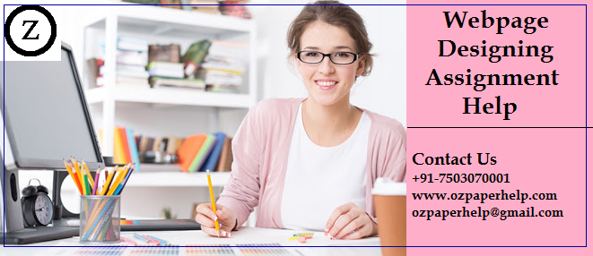 Webpage Designing Assignment Help