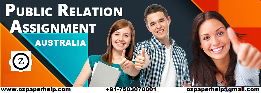 Public Relation Assignment Australia