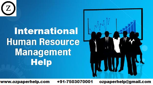 International Human Resource Management Help