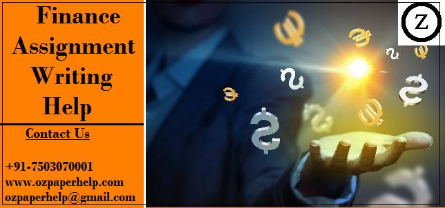 Finance Assignment Writing Help