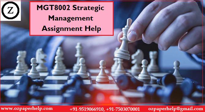 MGT8002 Strategic Management Assignment Help
