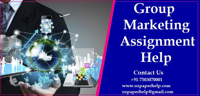 Group Marketing Assignment Help