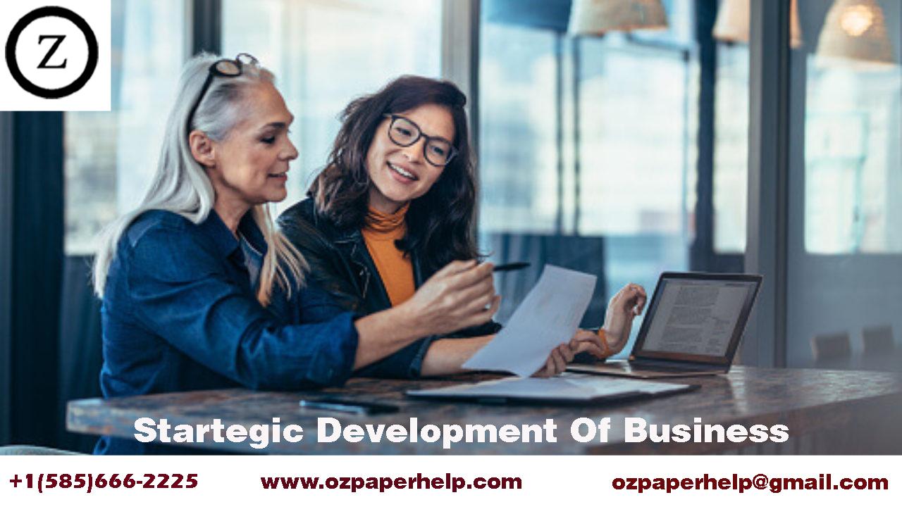 Startegic Development Of Business