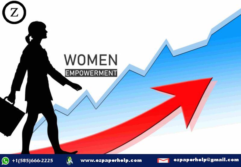 Women's Empowerment Assignment Help