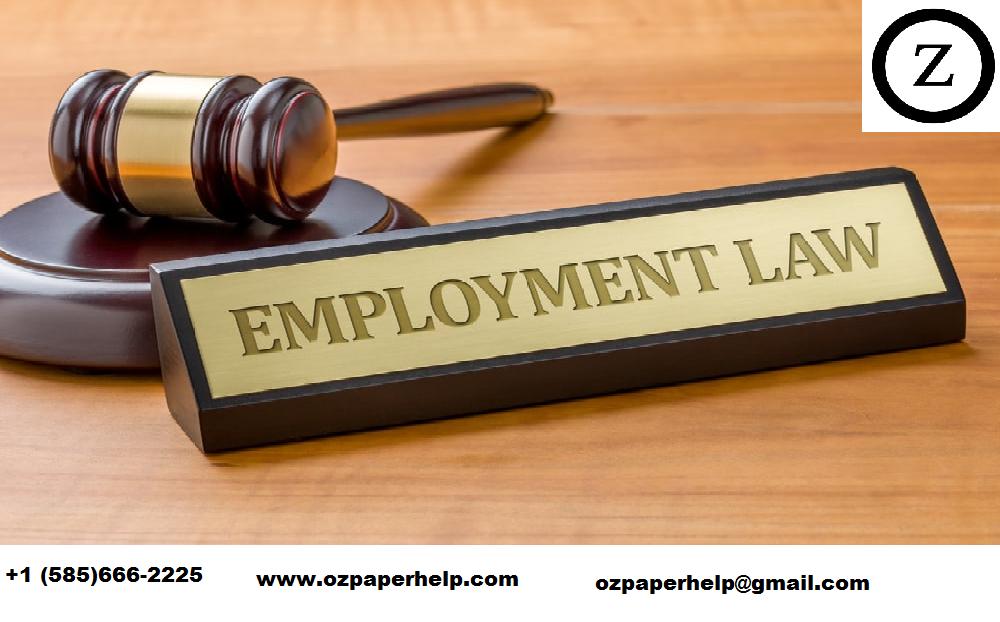 Employement Law Assignment Help