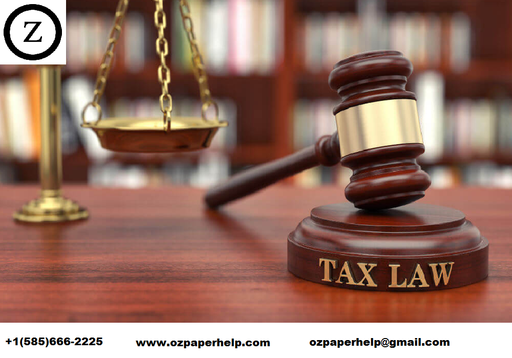 Income Tax Law Assignment Help