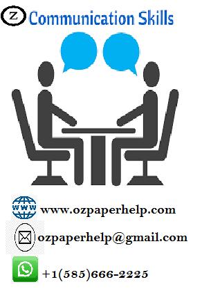 COMMUNICATION SKILL HELP ASSIGNMENT