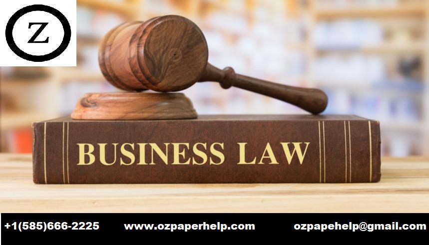 Australian Business Law Assignment Help