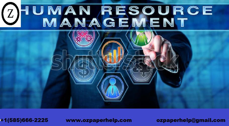 Resource Management Assignemnt Help